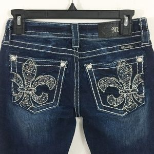 NEW MISS ME JEANS Boot Cut Size 25